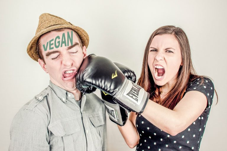 Arguments against veganism feature