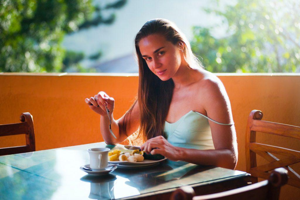 Eat slow release calories