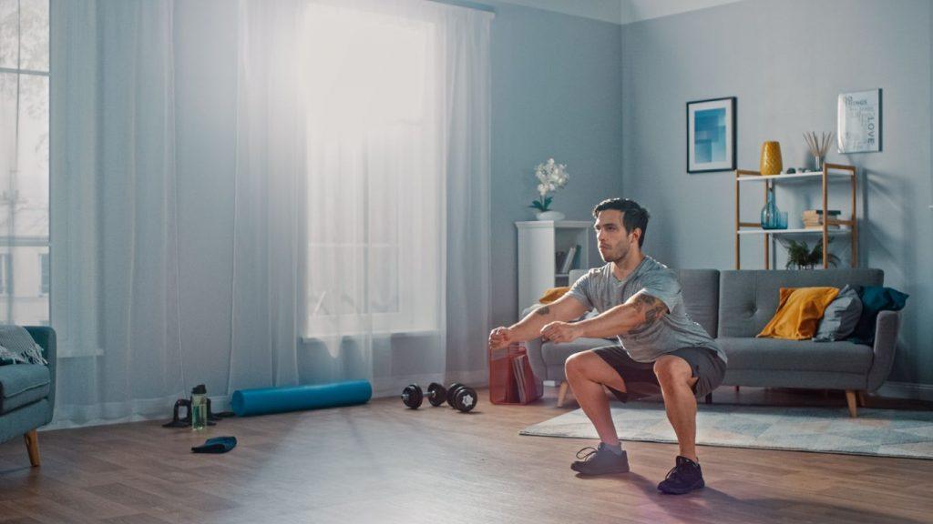 Calisthenics leg workout