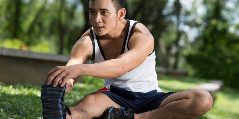 How to stretch your Achilles tendon while sitting