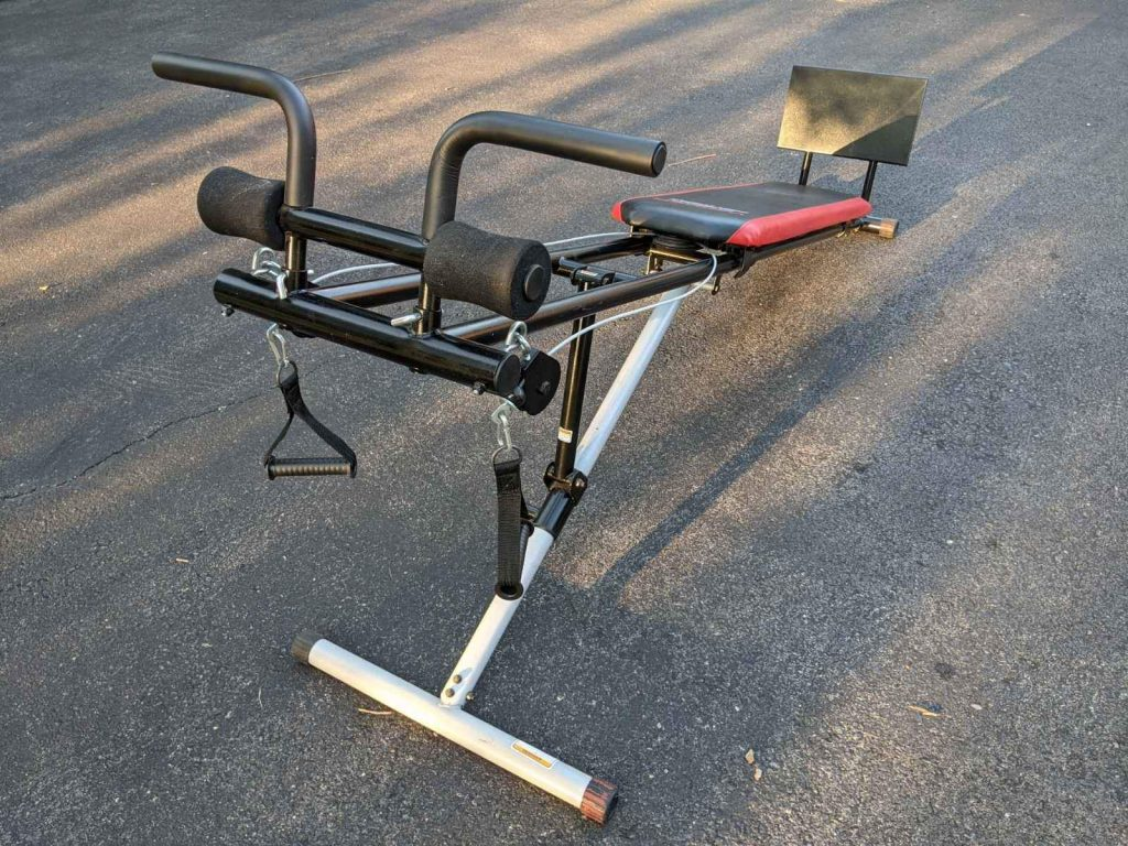Weider Ultimate Body Works back view