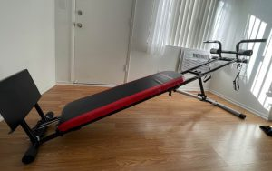 Weider Ultimate Body Works in living room