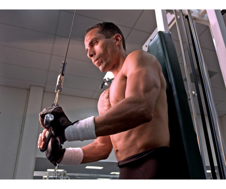 Straight-Arm Cable Pulldown vertical pulling exercises