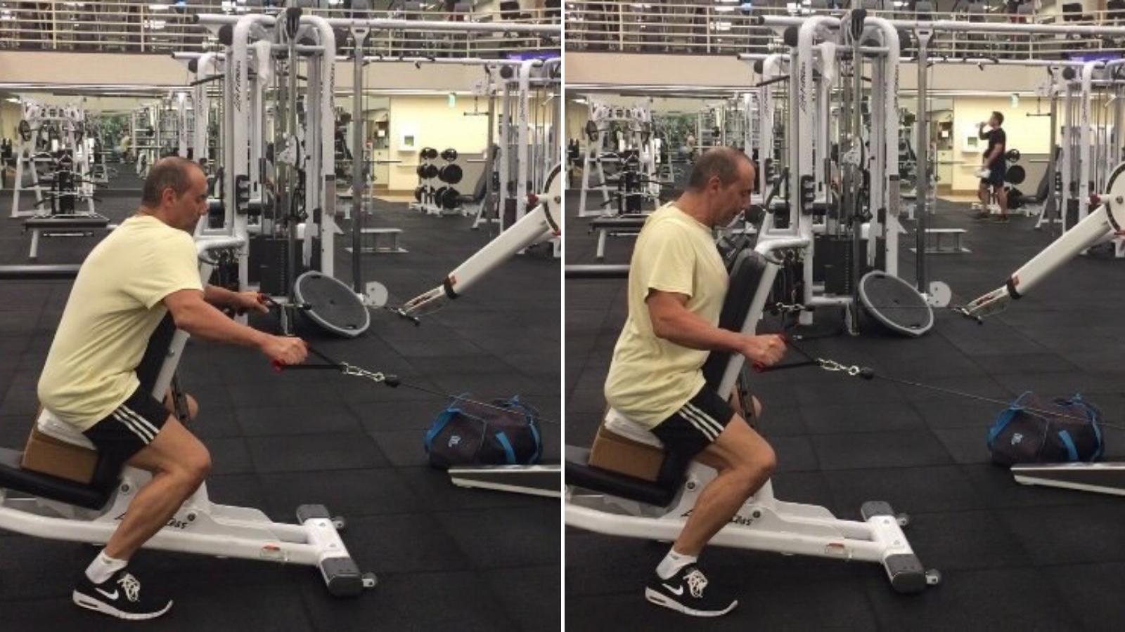 Scapula Shrug horizontal pulling exercises