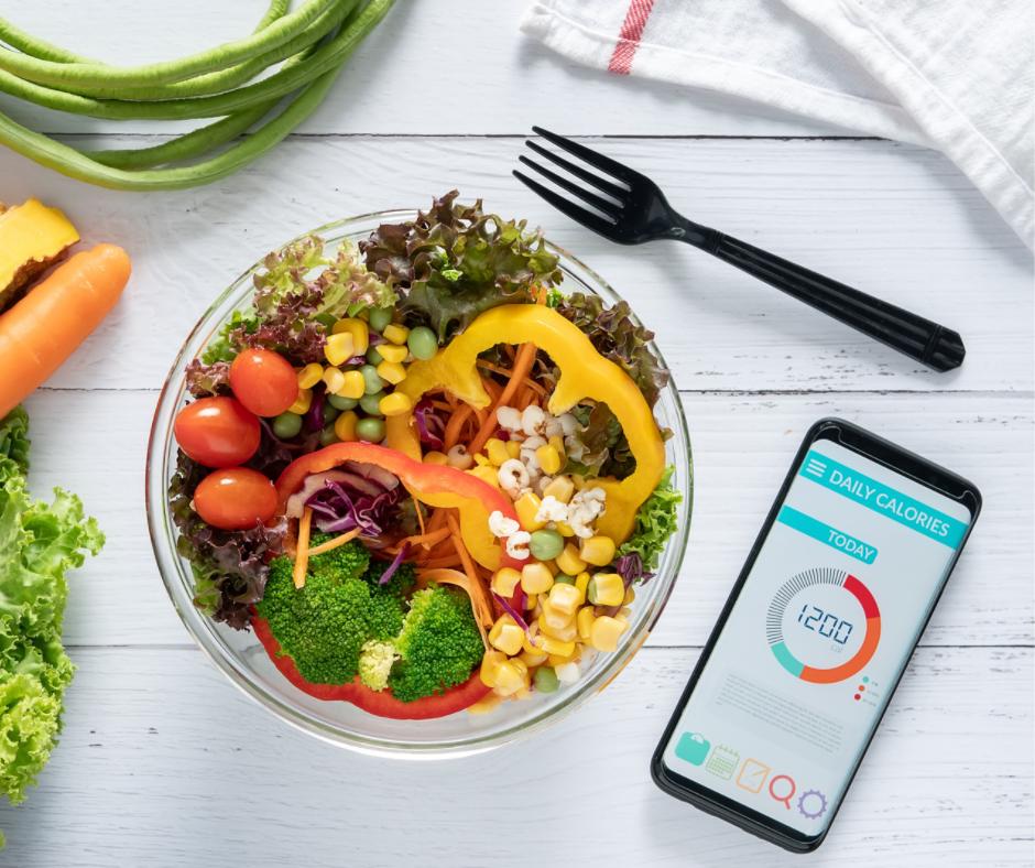 40 40 20 diet calorie consumption tracking